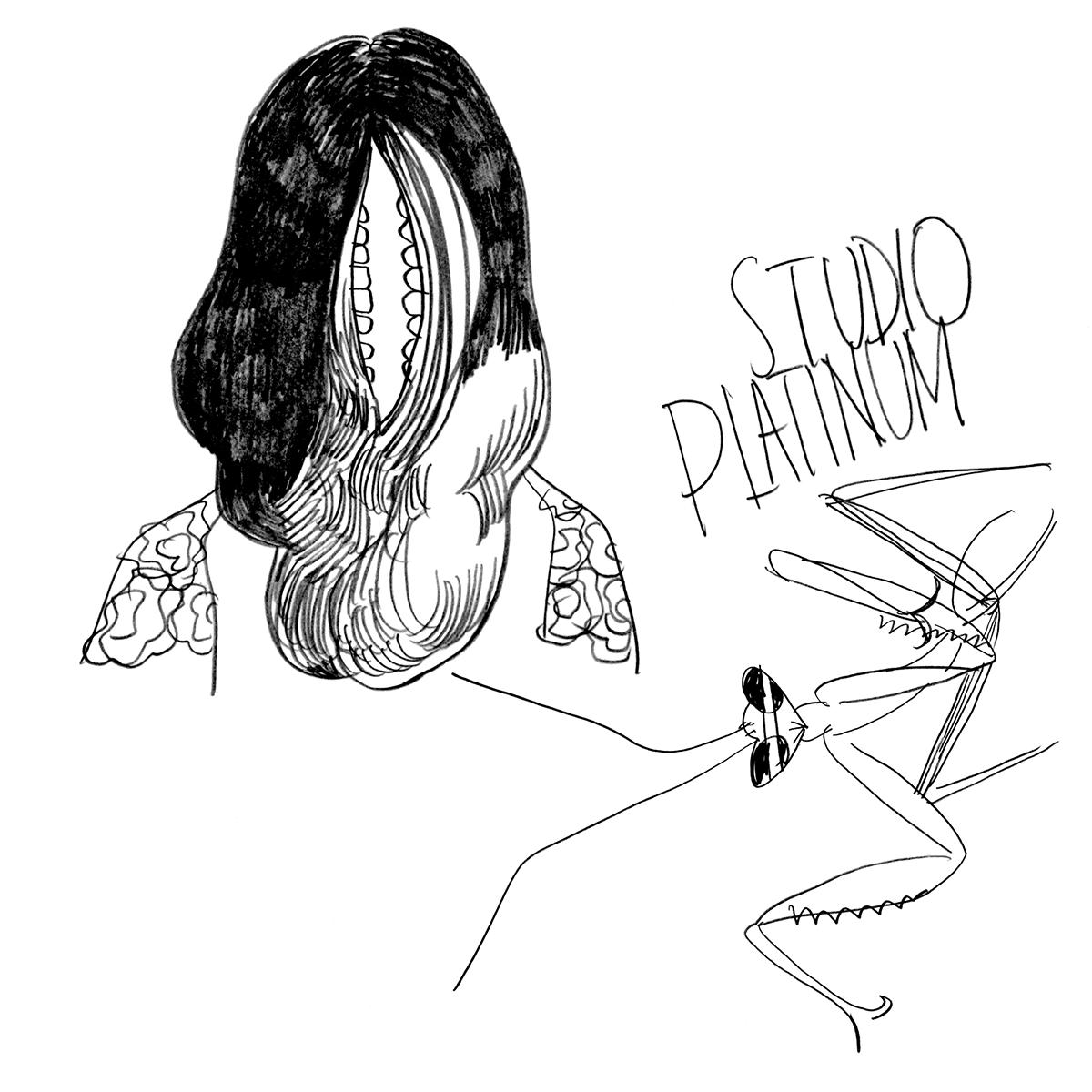 platinum studio イラストレーター長崎訓子